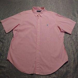 *Classic Fit* Ralph Lauren XL Striped Shirt!